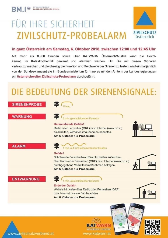 """+++ Zivilschutzprobealarm 99,92 Prozent aller Sirenen funktionieren einwandfrei ++++LH-Stellvertreter Pernkopf: """"Niederösterreichs Sirenen haben Zivilschutzprobealarm bestanden""""Beim heutigen Zivilschutzprobealarm wurden die 2.450 Sirenen in Niederösterreich auf ihre Funktionstüchtigkeit überprüft. 99,92 Prozent der Sirenen haben während der Aussendung der drei Zivilschutzsignale einwandfrei funktioniert.LH-Stellvertreter Stephan Pernkopf: """"Sicherheit steht für uns an erster Stelle! Wir haben ein gut ausgebautes Warn- und Alarmierungssystem, das ständig vom Landesfeuerwehrverband gewartet wird. Niederösterreichs Sirenen haben den Härtetest bestanden und stehen bereit, die Bevölkerung im Notfall rechtzeitig zu warnen.""""Bilder: zivilschutzverband.at"""