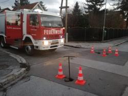 Wassergebrechen Kreuzung Buchengasse Haydnstrasse - Update 21:20 Uhr